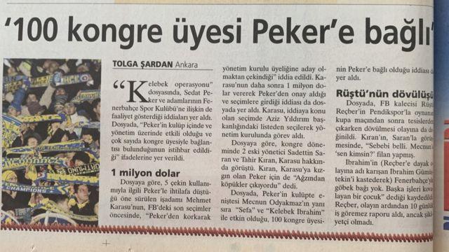 Peker'in adı, futbol kulüplerinde etkin olmaya çalışma ve futbolda şike iddialarıyla da gündeme geldi.