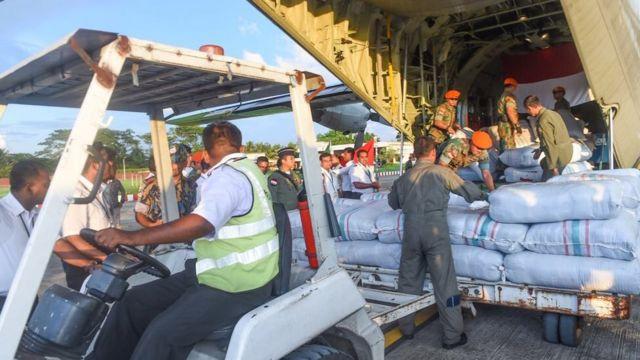 Bantuan kemanusiaan Indonesia untuk pengungsi Rohingya