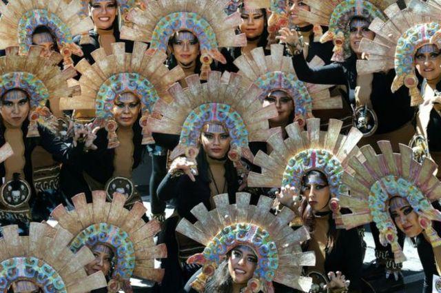 Waa markii ugu horraysay ee wadooyinka Mexico lagu xuso maalinta mowtada