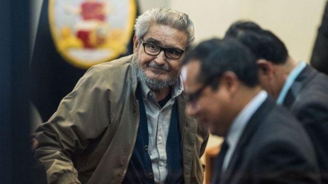 Abimael Guzmán, fundador de Sendero Luminoso