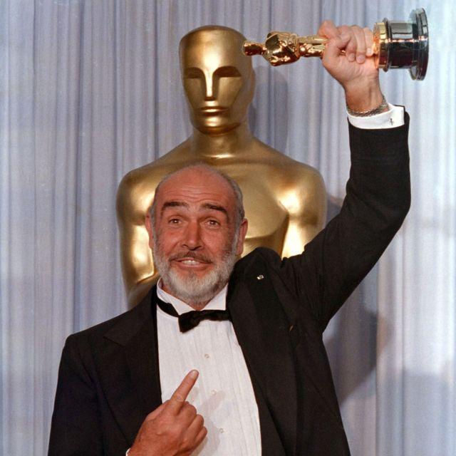 Sir Sean 1988-kii marki la guddoonsiiyey abaalmarinta Oscar