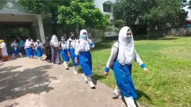 ঢাকার মহাখালীর টিএন্ডটি আদর্শ উচ্চ বালিকা বিদ্যালয়