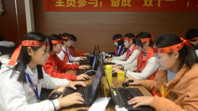 Empleados de Alibaba.