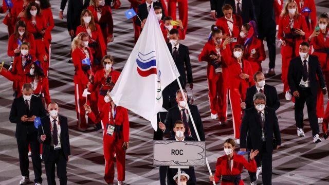 Команда Олимпийского комитета России