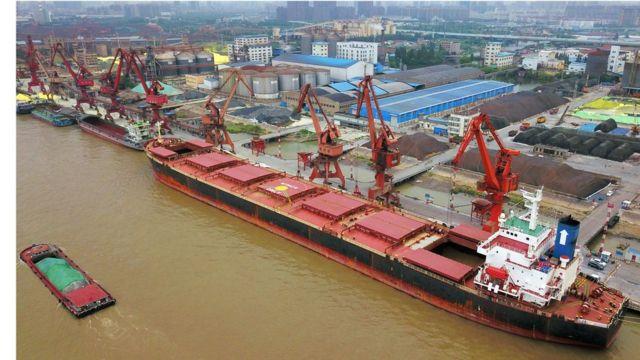 Exportações brasileiras na China