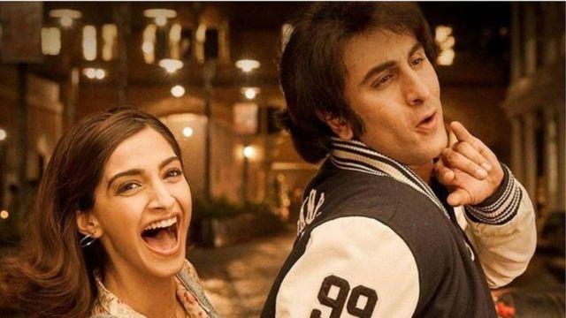 Ranbir Kapoor oo Sanjay Dutt la jilaysa filimka Sanju
