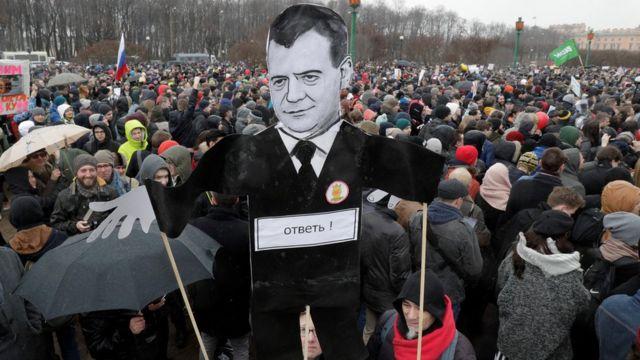 俄羅斯遊行示威