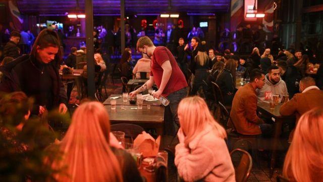 Congregated restaurant in Liverpool