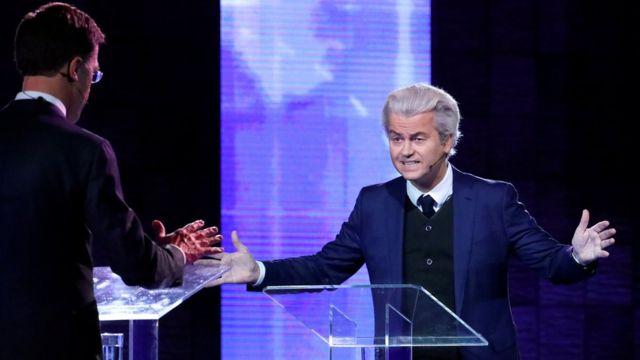Aşırı sağcı Özgürlük Partisi (PVV) lideri Geert Wilders