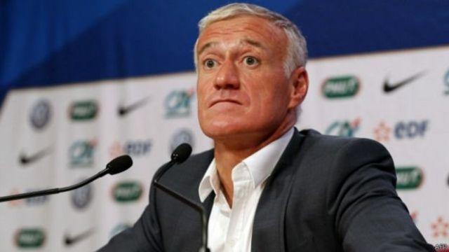 Didier Deschamps, le sélectionneur de l'équipe de France