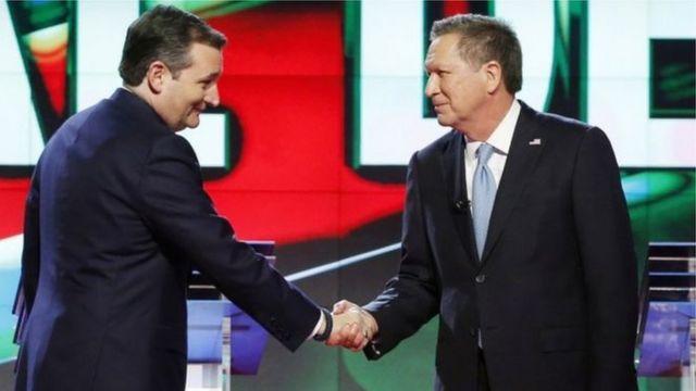 Ted Cruz and John Kasich