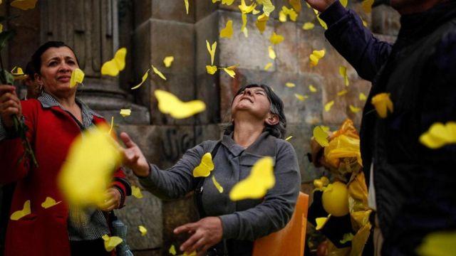 As borboletas amarelas de Cem Anos