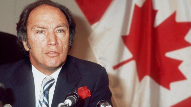 Pierre Trudeau.