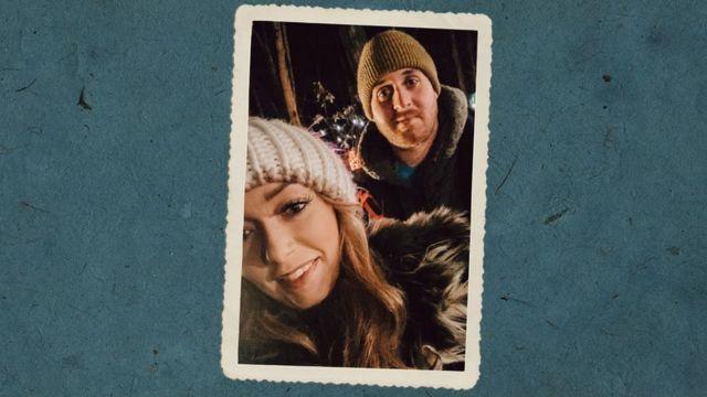 Becky y su esposo