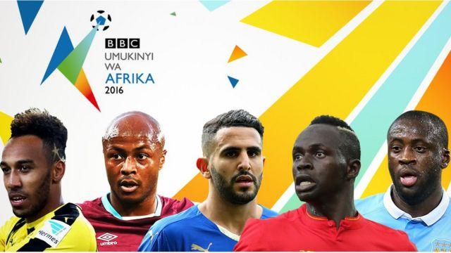 Igihembo cya BBC cy'Umukkinyyi wa Afurika muri 2016