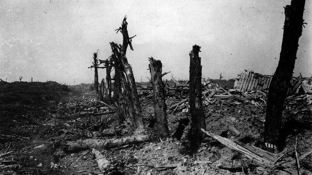 post battle destruction