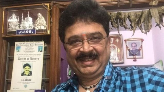 'எஸ்.வி.சேகர் பேசிய ஒலிபெருக்கி கருவி வெடித்து சிதறியது'