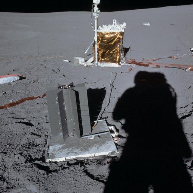 Sombra de astronauta