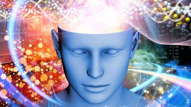Arte conceitual de cérebro ativo sonhando