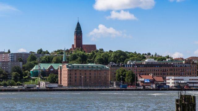 Puerto de Gotemburgo.