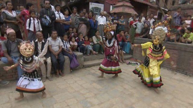 Dawnswyr Nepal