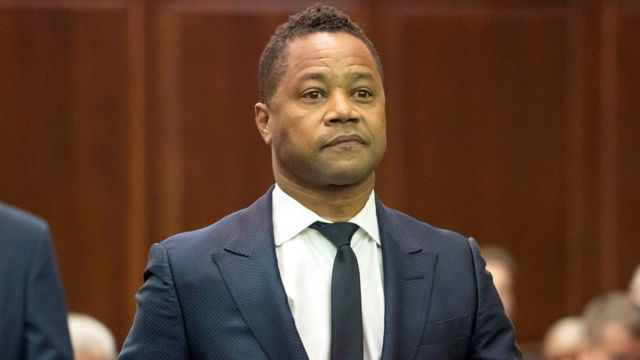 Cuba Gooding Jr charged over nightclub 'grope'