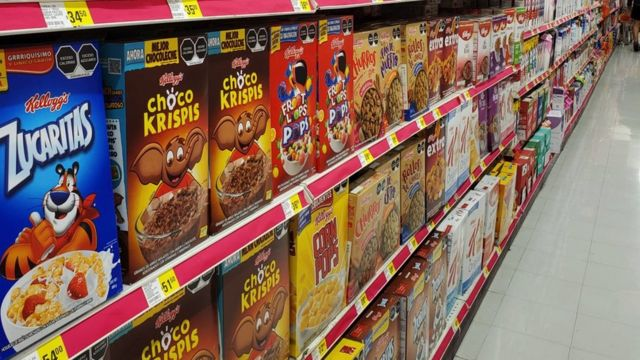Cajas de cereales