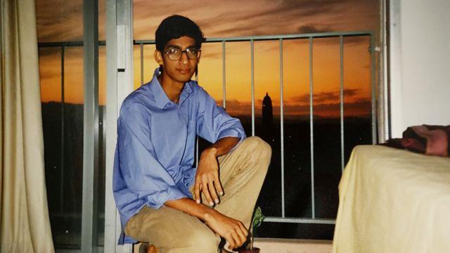 Сундар Пичай в своей комнате в Стэнфордском университете, 1994 год