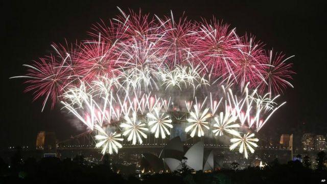 2017 : Sydney a été la première ville à lancer le compte à rebours.