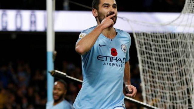 Inter Milan ina hamu ya kumsaini kiungo wa kati wa Manchester City na Ujerumani Ilkay Gundogan, 28. (Tuttosport, via Calciomercato)