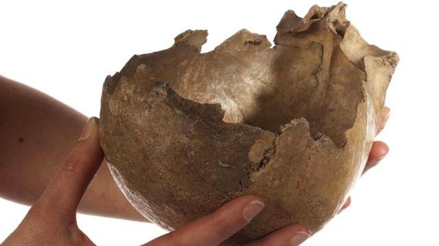 Чаши из черепов могли использоваться в ритуальных целях