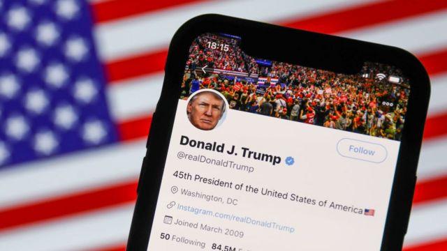 La cuenta de Twitter de Trump