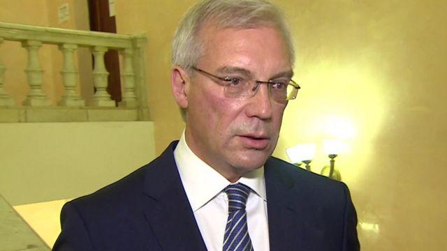 Alexander Grushko, Russia's ambassador to Nato