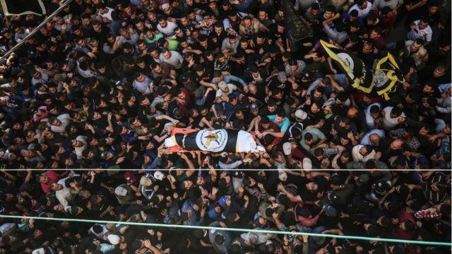 جنازة بهاء أبو العطا