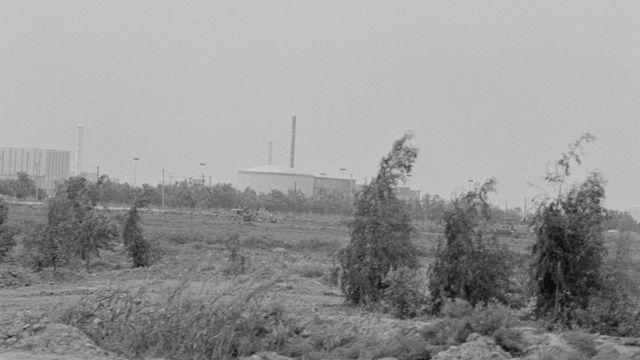 مفاعل تموز العراقي قبل تدميره