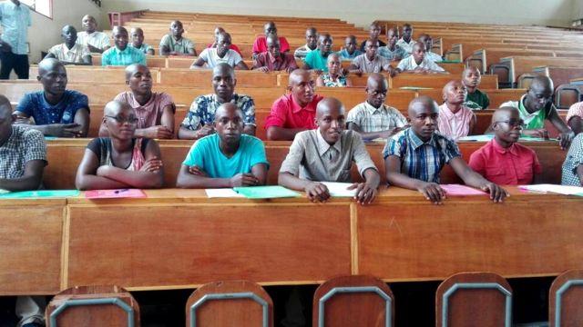 Abanyeshure bo kw'ishure nderabigisha rya ENS i Bujumbura