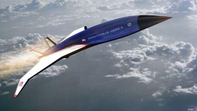ABD Hava Kuvvetleri olası bir hipersonik başkanlık jetini değerlendiriyor.