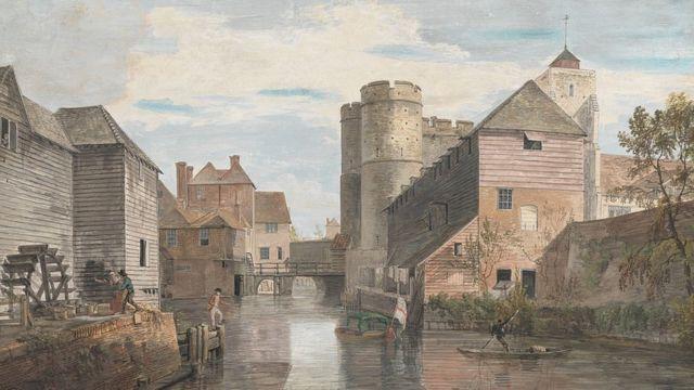 Западные воротв в Кентербери