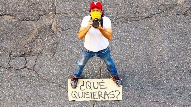 Diego Vallenilla y su cámara: ¿QUÉ QUISIERAS?