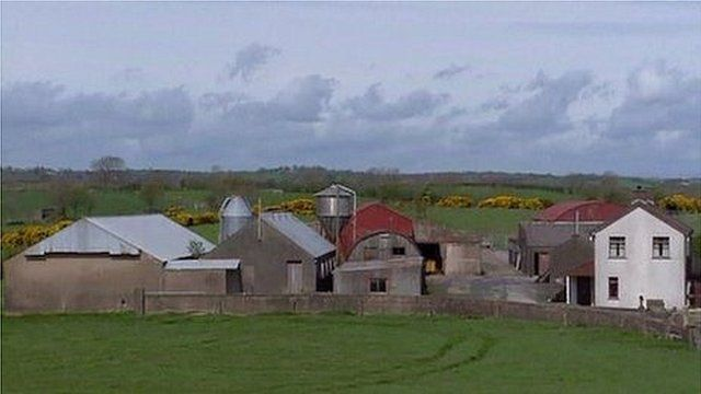 A farm in Glenanne was alleged to be the base for a UVF gang
