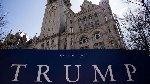 Trump oteli, Washington