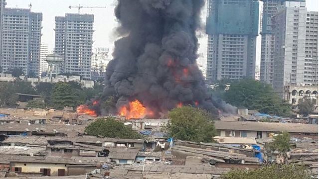 मुंबई आग
