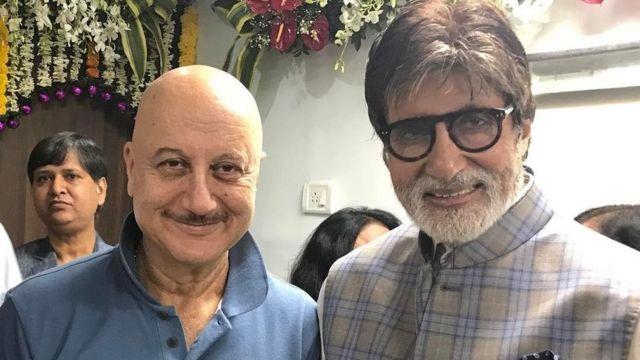 Amitabh Bachchan iyo Anupam Kher