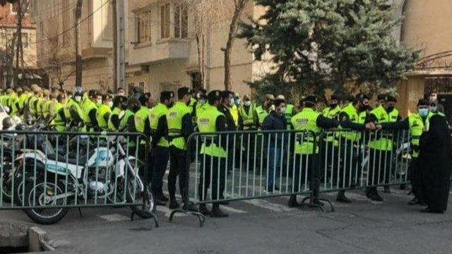 ممانعت از تجمع احمدینژادیها