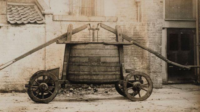 Пожарная машина XVII века