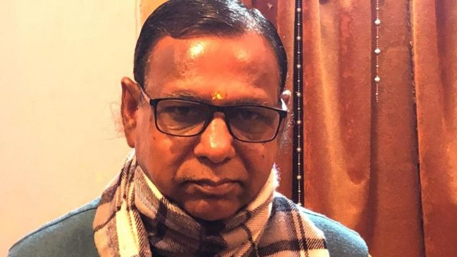 बिजनौर के एक स्थानीय भाजपा नेता महेंद्र धनौरिया