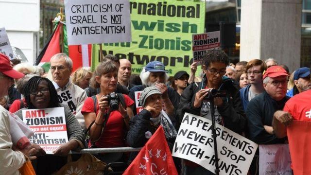 Британские левые настаивают, что они - не антисемиты, а антисионисты