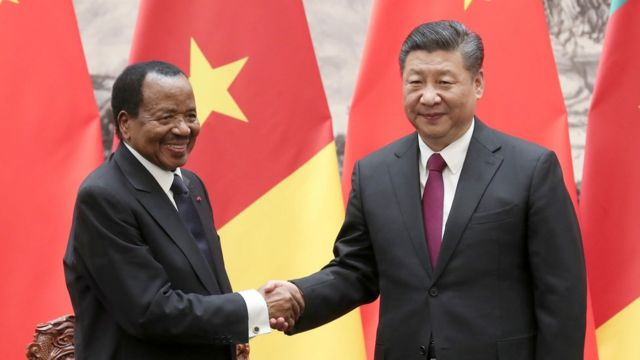 Paul Biya and Xi Jin-Ping