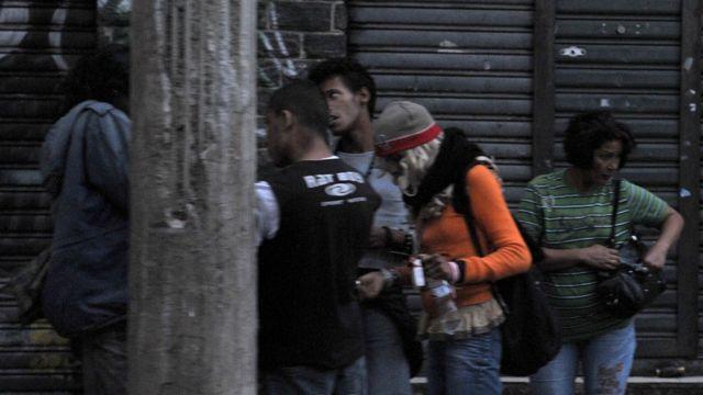 Consumidores de crack en Sao Paulo