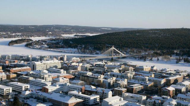 Rovaniemi, a cidade
